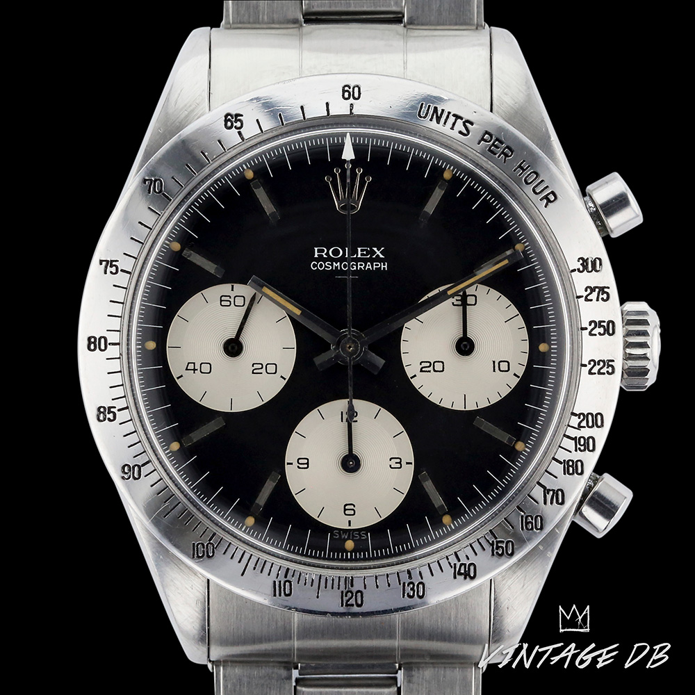 Rolex 6239 Daytona Black Mk 1 Double Swiss