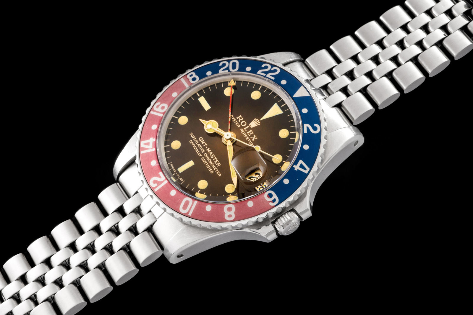 "Rolex ""The GMT Tropical ref. 1675"" 0"