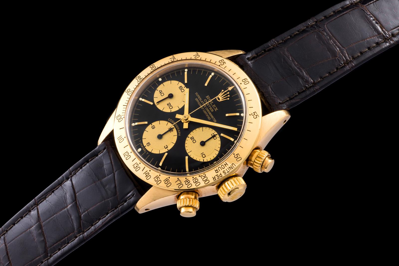 """Rolex """"The gold Daytona ref. 6265"""" 0"""