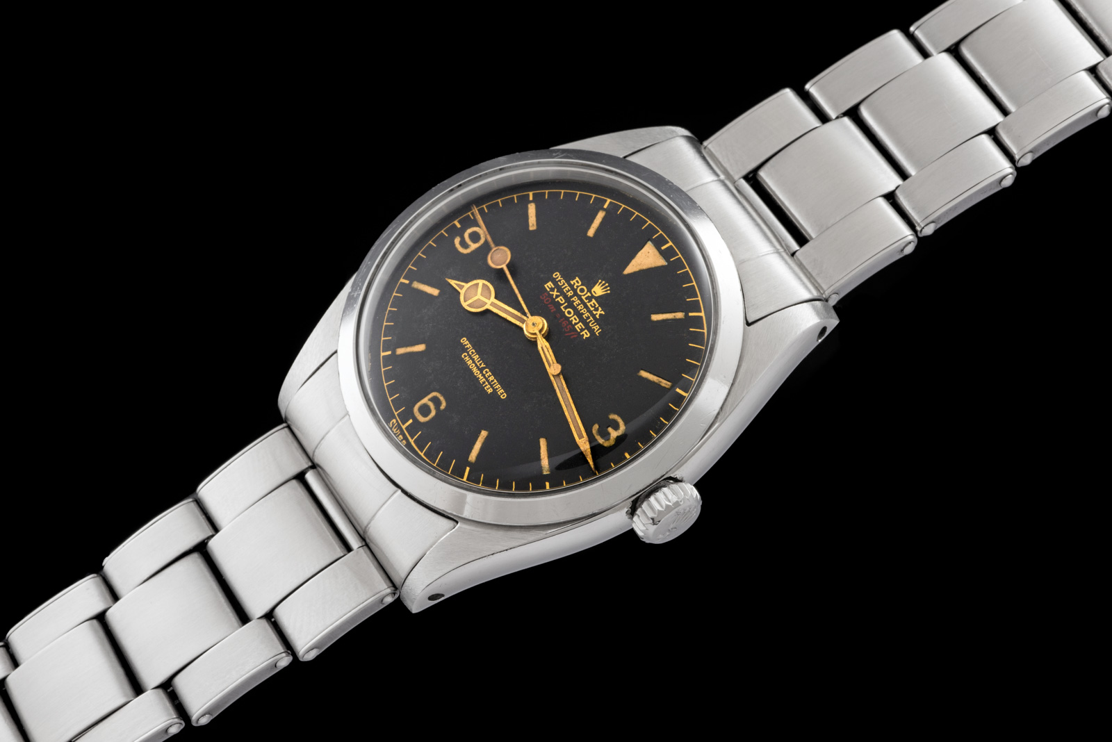 Rolex The full set Red Depth Explorer ref. 6610 0