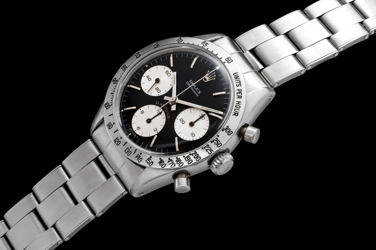 Rolex The steel Daytona ref. 6239 Cherry Logo 0