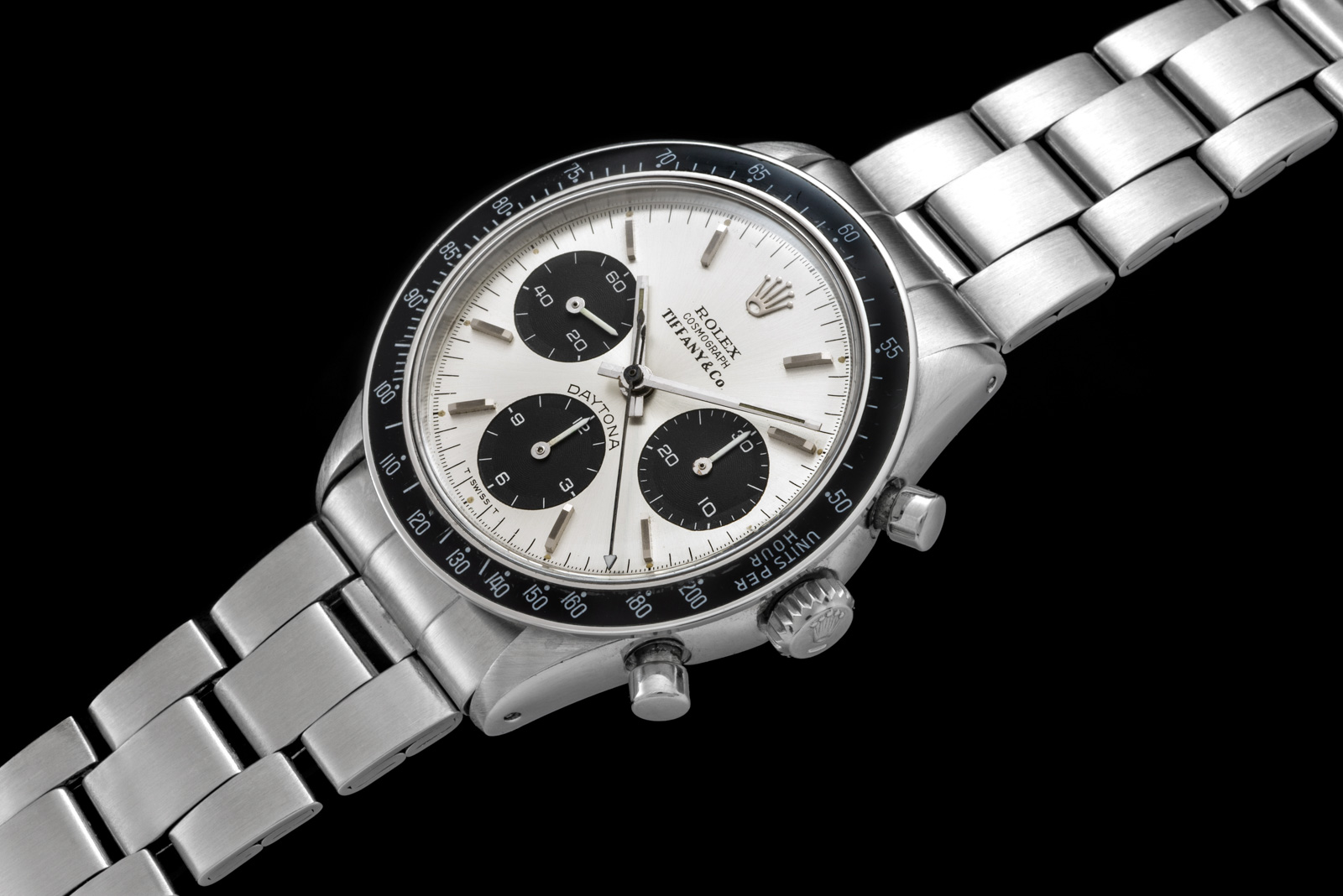 Rolex The steel Daytona ref. 6241 retailed by Tiffany 1