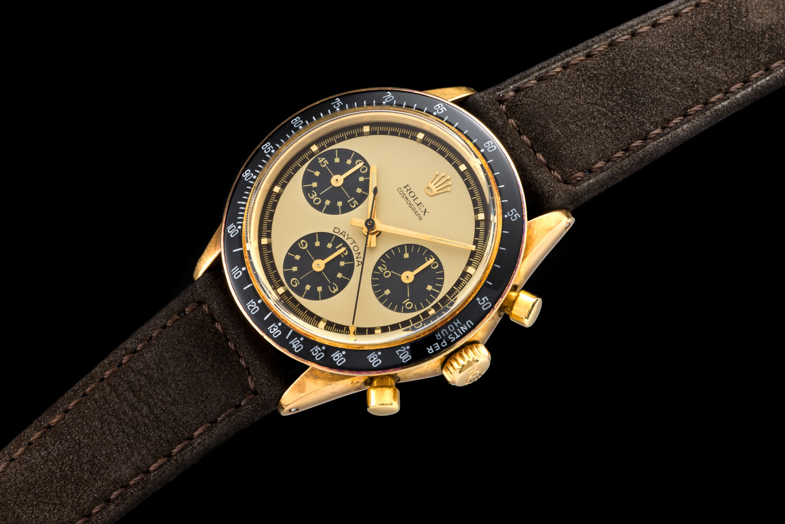 "Rolex ""The gold Paul Newman Ref. 6241"" 0"