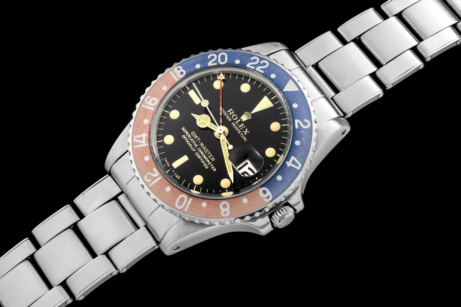 "Rolex ""The Gilt GMT ref 1675"" 0"