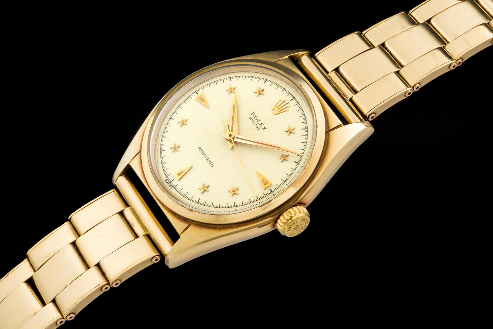 """Rolex """"The gold Stelline ref. 6024"""" 0"""