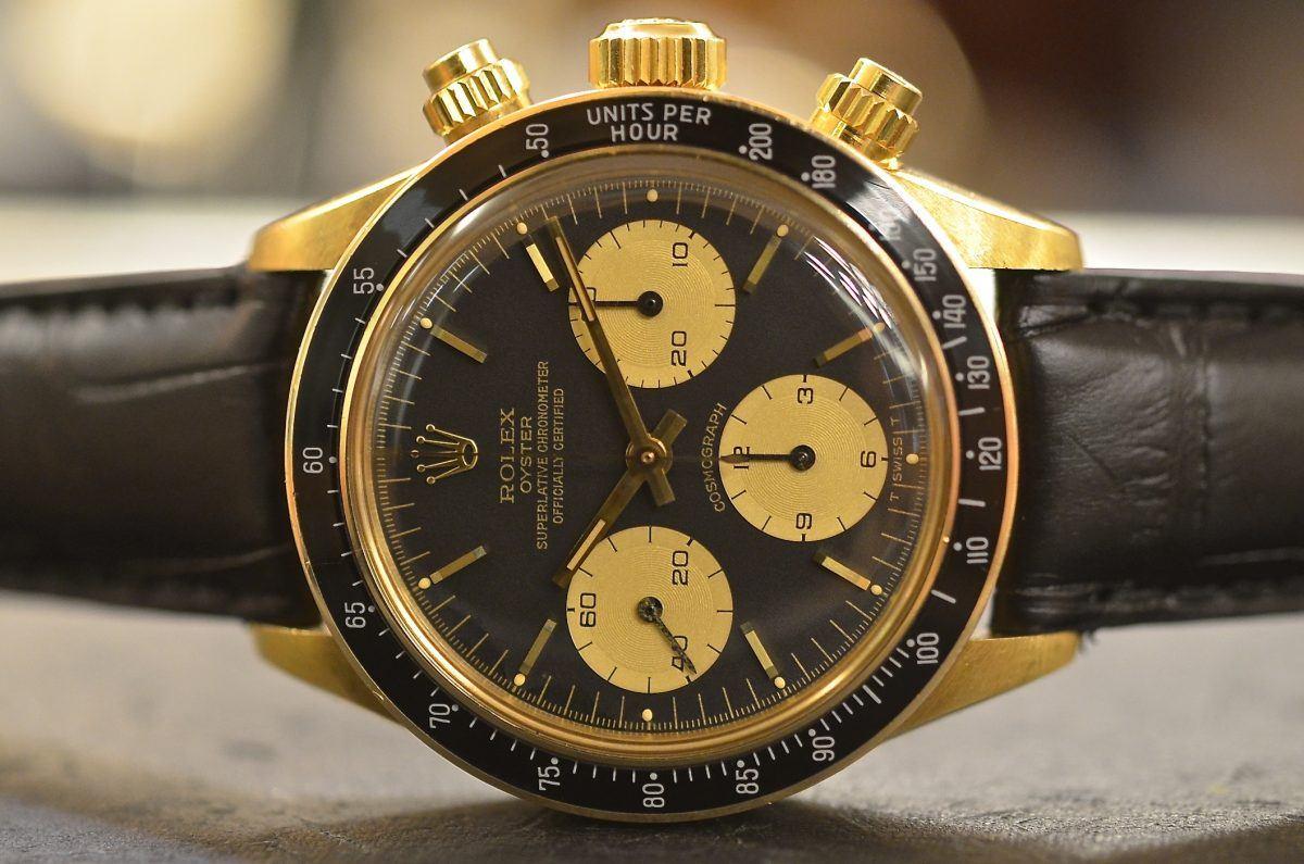 Rolex Daytona ref. 6263 in 18k Yellow Gold , Rolex Passion